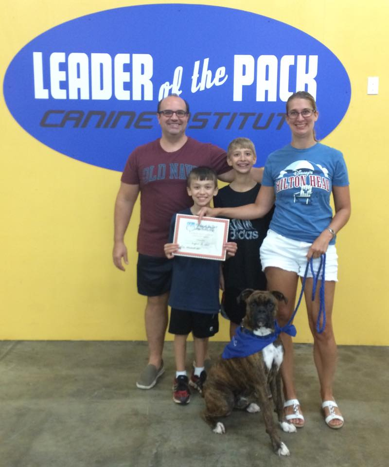 Max's Dog Training Certificate in Easton, PA