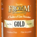 13oz. Fromm Gold Chicken Pate Dog Food