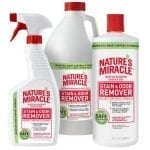 Nature's Miracle stain & odor remover available in 3 sizes